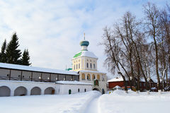 Russian orthodox monastery Royalty Free Stock Image