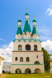 Russian Orthodox monastery Stock Photos
