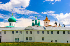 Russian Orthodox monastery Stock Photo