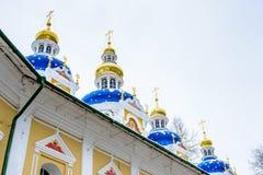 Russian Orthodox monastery Stock Photo