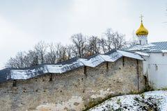 Russian Orthodox monastery Royalty Free Stock Image