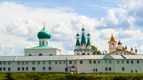 Russian Orthodox monastery Stock Image