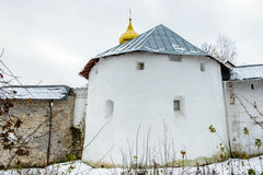 Russian Orthodox monastery Royalty Free Stock Photo