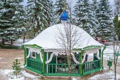 Russian Orthodox monastery Stock Photography