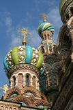 Russian orthodox temple Royalty Free Stock Photos