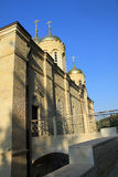 Russian Orthodox Temple Stock Photography