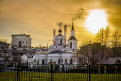 Russian Ortodox Church in Moscow, Russia Stock Photo