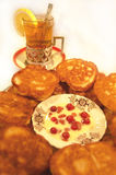 Russian pancakes Stock Photography