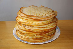 Russian pancakes royalty free stock image