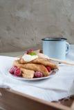 Russian pancakes Stock Photos