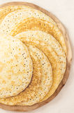 Russian pancakes blini Stock Photography