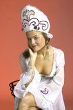 Russian party girl 13 Stock Image