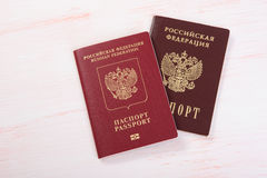Russian passport Royalty Free Stock Image