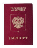Isolated Russian Passport Royalty Free Stock Photos