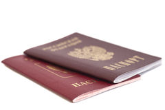 Russian Passports Stock Images