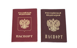 Russian Passports Royalty Free Stock Photos