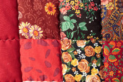 The russian patchwork quilt Royalty Free Stock Photo