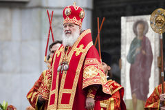 Russian Patriarch Kirill Stock Images