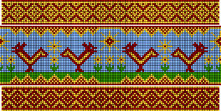 Free Russian Pattern. Set Royalty Free Stock Photography - 27252247
