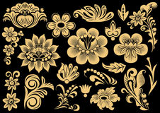 Russian patterns Royalty Free Stock Images