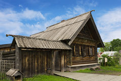 Russian peasant house of the nineteenth century Stock Photography