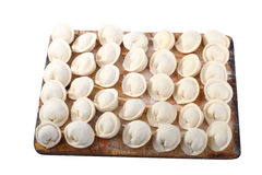 Russian pelmeni Stock Images