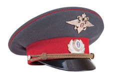 Russian Police cap Royalty Free Stock Photo