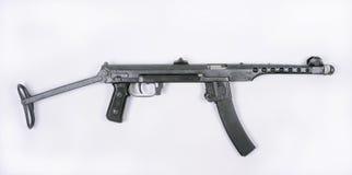 Russian PPS 1943 machine gun. WW11 Russian PPS 1943 machine gun. A pressed steel wartime economy weapon Royalty Free Stock Photos