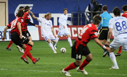 Russian Premier League 2010 royalty free stock photography