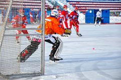 Game of bandy Royalty Free Stock Images