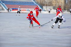 Game of bandy Stock Images