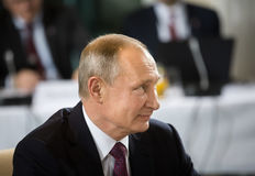 Russian President Vladimir Putin Stock Photo
