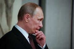 Russian President Vladimir Putin in Athens Royalty Free Stock Photos