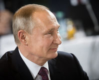 Russian President Vladimir Putin Royalty Free Stock Photo