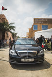 Russian presidential car at Expo 2015 in Milan, Italy Stock Photo
