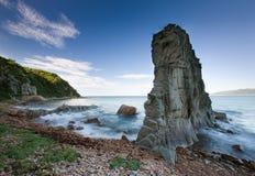 Russian, Primorye, beautiful sea rock stock photos
