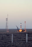 Russian Progress Rocket Launch Royalty Free Stock Image