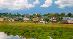 Russian province Royalty Free Stock Photo
