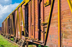 Russian railway vehicle Royalty Free Stock Photos