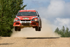 Russian rally championship Stock Image