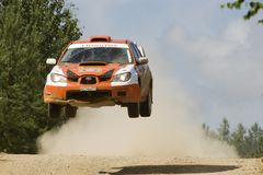 Russian rally championship Rostov Velikiy Royalty Free Stock Photo