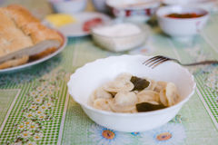 The Russian ravioli Stock Images