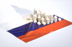 Russian real-estate development Stock Images