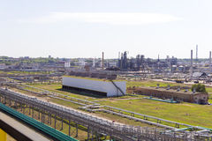 Russian refinery complex at summer daylight Stock Photo