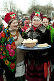 Russian religious holiday Maslenitsa Royalty Free Stock Images