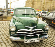 Russian retro car Stock Photo