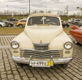 Russian retro car Stock Images