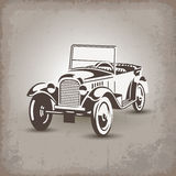 Russian retro car1 Royalty Free Stock Image