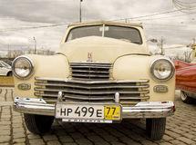 Russian retro car Pobeda (Victory) Royalty Free Stock Photo