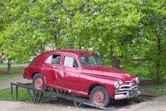 Russian retro car Stock Photography